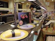 Qualsevol restaurant de sushi (Japo)