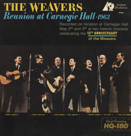 Le registrazioni dell'età dell'oro - Pagina 3 The-Weavers-Reunion-At-Carneg-399346