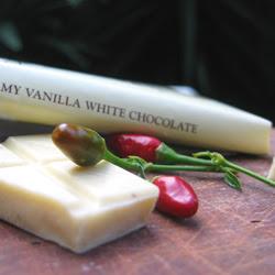 white chocolate and chilli