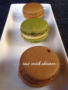 macaron trio