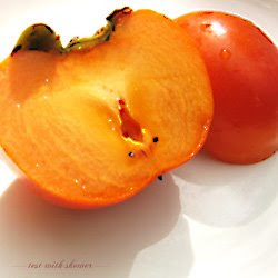 fresh persimmon