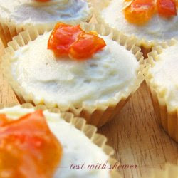 persimmon cupcakes