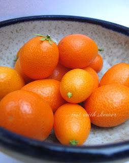 bowl of cumquats