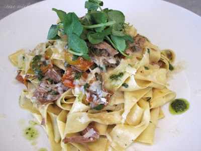pappardelle with duck confit