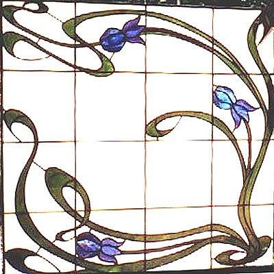 Art nouveau borders 2 - dwg format (13912 kb)
