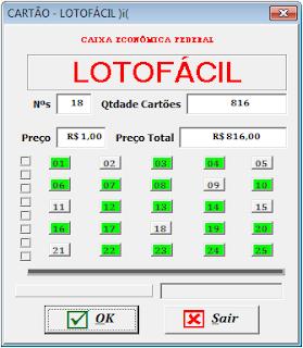 loteria, quina, vba, excel, macro, mega-sena, megasena, lotofácil, loto-facil