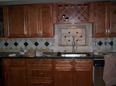 Designer Backsplash