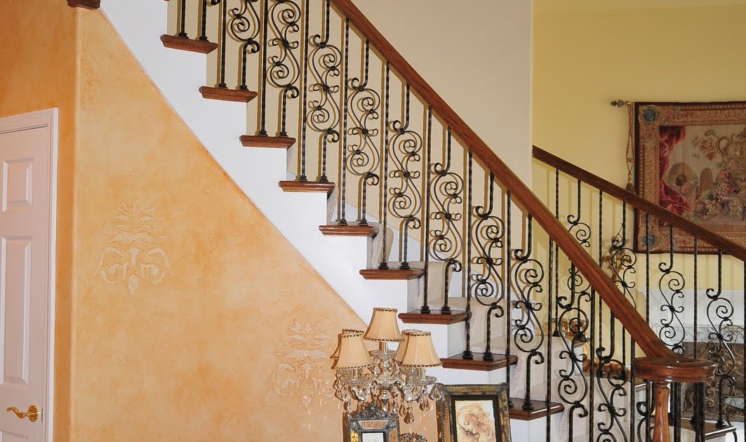 Naperville stairs and railings with iron balusters naperville stairs and railings with iron - Refurbish stairs budget ...