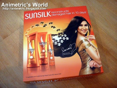 Free Sunsilk Damage Hair Repair Kit