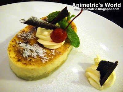 Sweet Potato Creme Brulee at Uncle Cheffy Brick-Oven Panizza
