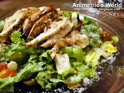 Cobb Caesar Salad at Holy Cow Steak Ranch and American Grill