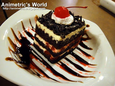 Midnight Black Forest Cake at Holy Cow Steak Ranch and American Grill