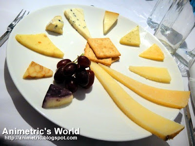 Real California Cheese tasting at M Cafe
