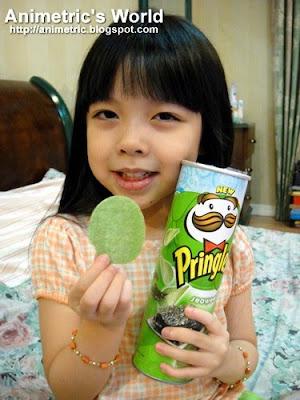 Pringles Seaweed is da bomb!