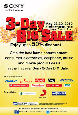 Sony 3-Day Big Sale!