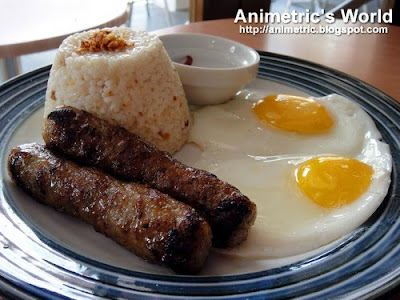 Longganisa with Garlic Rice at Baang Coffee