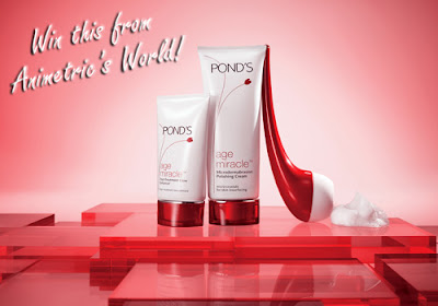 Win a Ponds Age Miracle Microdermabrasion Kit from Animetric's World!