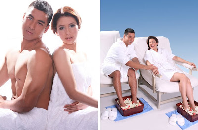 Blue Water Day Spa Endorsers Karylle and Akihiro Sato