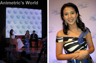 Event host Phoemela Baranda with Karylle and Akihiro