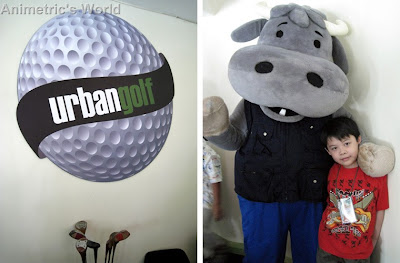 Kids Golf Party at Urban Golf with Guyito