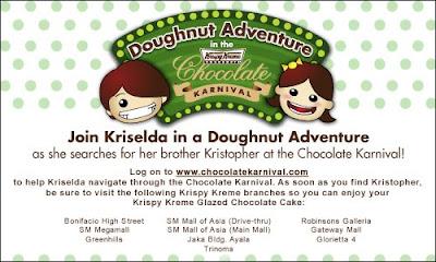 Free Krispy Kreme Glazed Chocolate Cake!