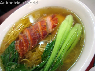 Hanobe Express Honey Roast HK Asado Noodle Soup