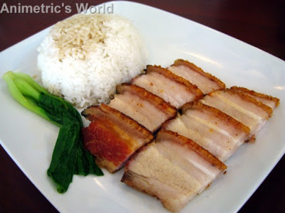 Hanobe Express Rice Topping with Lechon Macau