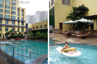 Hyatt Manila swimming pool