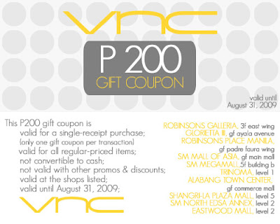 VNC Discount Coupon