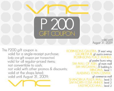 VNC Discount Coupon