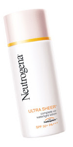 Neutrogena Ultra Sheer Complete UV Waterlight Lotion