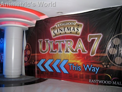 Eastwood City Mall's Ultra 7 Cinema