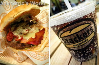 Stackers Burger Cafe Eastwood City