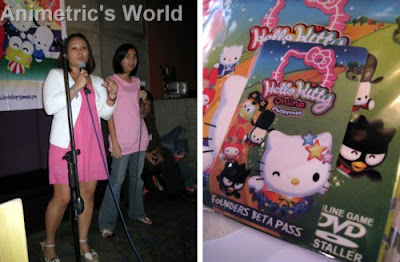 Folks from Level Up Games and my very own Hello Kitty Online HKO installer + pass