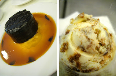 Decadence Cake and Chocnut Ice Cream at Goodies n' Sweets