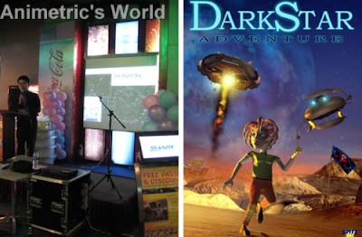 Dr. Armando Lee discusses stars and DarkStar Adventure poster