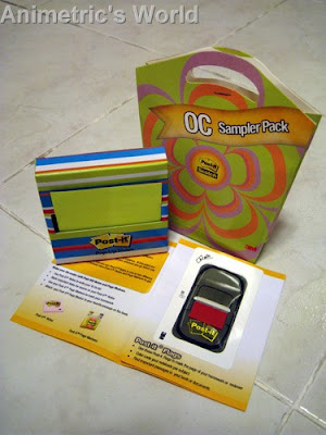 Free Post-it OC sampler pack