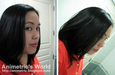 Results of Japanese magnetic hair straightening at Shuji Kida Hair Salon