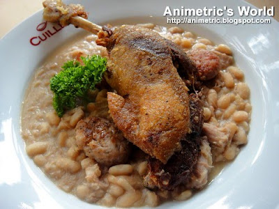 Cassoulet with Duck Confit at Cuillere