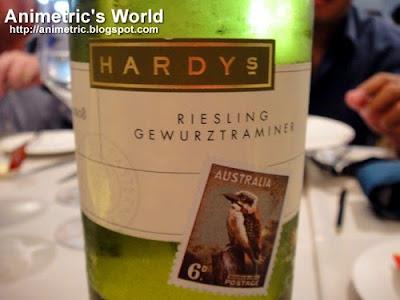 Hardys Stamp Riesling Gewurtztraminer white wine