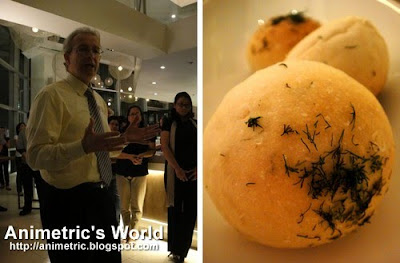 USDA Agricultural Attaché David Wolfe and Potato Dill Sourdough Bread