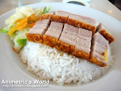 Roasted Crispy Pork Rice at Eat Well Delicious Kitchen