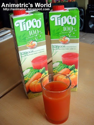 Tipco 100% 32 Veggie & Mixed Fruit Juice