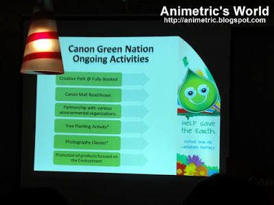 Canon GreenNation activities