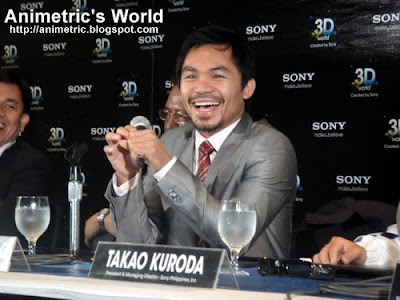 Manny Pacquiao for Sony 3D TV