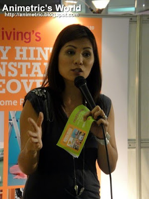 Patricia Bermudez-Hizon at the Real Living Handy Hints and Instant Makeovers launch