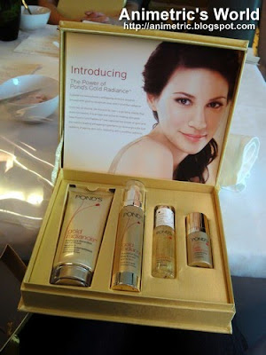 Ponds Gold Radiance anti-aging line