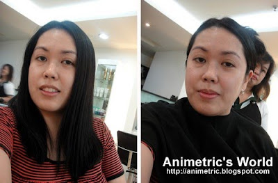 Animetric's hair makeover at Razzle Dazzle Salon