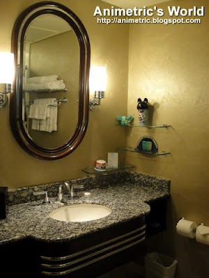 Bathroom at Disney's Hollywood Hotel