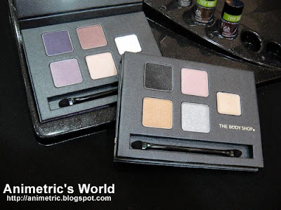 Winter Trend 2010 make-up palette from The Body Shop